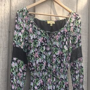Floral dress Vera Wang Princess sz S